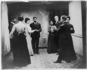 Monaghan Men's Irish Dancing Class , 1905