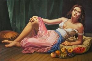 Lucio Amitrano-ImpressioniArtistiche-11-La Cortigiana (2)