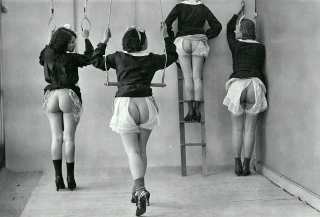 Gym class, 1920s