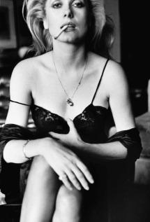 Catherine Deneuve by Helmut Newton for Esquire Paris, 1976