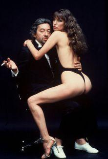 Gainsbourg & Birkin by Helmut Newton