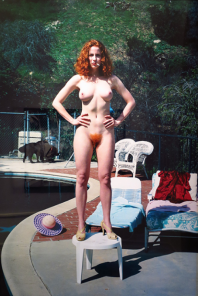 Helmut Newton, Redhead, California, 1992