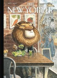 a-lion-eats-at-a-vegetarian-restaurant-peter-de-seve